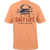 Salt Life American Crab Pocket Tee