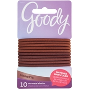 Goody Color Collection Ouchless 4mm Hair Tie Elastic 10 pk.
