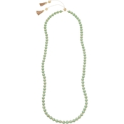 Spartina 449 18K Goldtone 32 in. Necklace with Wood Beads