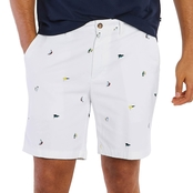 Nautica Classic Fit Flat Front 8.5 in. Deck Shorts