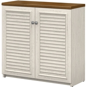 Bush Furniture Fairview Small Storage Cabinet with Doors