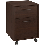 Bush Key West 2 Drawer Mobile File Cabinet