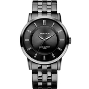Armitron Men's Black Ion Plated Bracelet Watch 20/4962BKTI