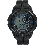 Armitron Men's Sport Digital Chronograph Resin Strap Watch 40/8449BBK