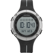 Armitron Sport Men's 40/8456GBK Digital Chronograph Grey and Black Strap Watch