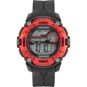 Armitron Sport Men's 40/8454GBK Digital Chronograph Black Strap Watch