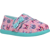 Skechers Toddler Girls Shuffle Lite Solestice 2.0 Paw Some Bob Strap Sneakers