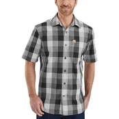 Carhartt Essential Plaid Open Collar Shirt