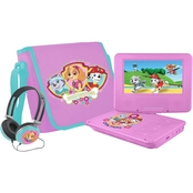 Ematic Paw Patrol Girls 7 in. Portable DVD Player