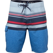 Salt Life Tactics Performance Aqua Trunk Board Shorts