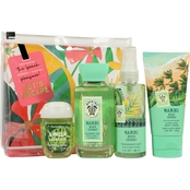 Bath & Body Works Waikiki Beach Coconut Adventure Awaits 4 pc. Gift Set