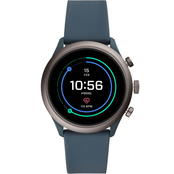 Men's Fossil Sport Smartwatch - Black Silicone