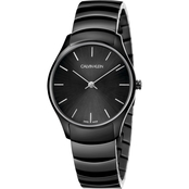 CALVIN KLEIN[CLASSIC TOO]WATCH[SST PVD BLACK/PVD Black]