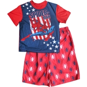 Marvel Little Boy Spiderman 2 pc. Pajama Set