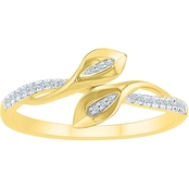 10K Yellow Gold 1/10 CTW Diamond Fashion Ring