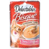 Hartz Delectables Bisque Lickable Treat Tuna and Chicken