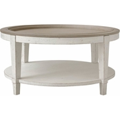 Bassett Bella Round Cocktail Table