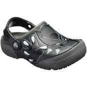 Crocs Preschool Boys Black Panther Clogs