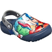 Crocs Preschool Boys Marvel Multi Clogs