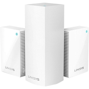 Linksys Velop Whole Home Tri-Band Mesh Wi-Fi System 3 pk. with Plug-Ins (AC4800)
