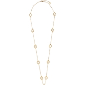 Vince Camuto Goldtone Station Necklace 40 in.
