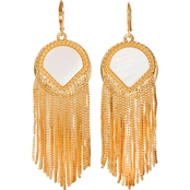 Vince Camuto Goldtone Fringe Earrings