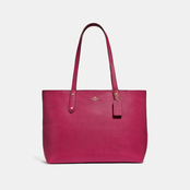 COACH Central Tote with Zip Top