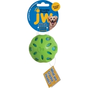 JW Crackle Heads Ball Dog Toy