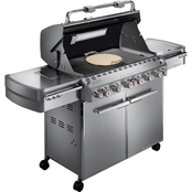 Weber Summit S670 Liquid Propane Stainless Steel Grill