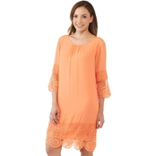 Passports Lace Trim Dress