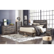 Signature Design by Ashley Drystan Panel Bed with Dual Side Storage 5 pc. Set