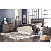 Signature Design by Ashley Drystan Panel Headboard Kit 5 pc. Bedroom Set