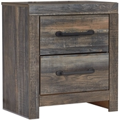 Signature Design by Ashley Drystan 2 Drawer Nightstand