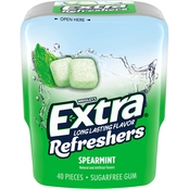 Extra Refreshers Spearmint Chewing Gum 40 pc.
