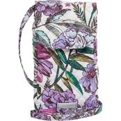 Vera Bradley Carson Cellphone Crossbody Signature Cotton, Lavender Meadow