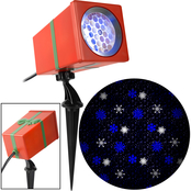 Gemmy Christmas Lightshow SnowStorm Snowflake Projection