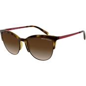 Armani Exchange Phantos Havana / Brown Gradient Sunglasses 0AX4083S803713