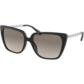 COACH SQUARE BLACK / GRAY GRADIENT SUNGLASSES