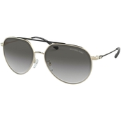 Michael Kors Shiny Pilot Gradient Sunglasses 0MK1041101411