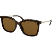 Michael Kors Square Solid Polarized Sunglasses 0MK2079U333383