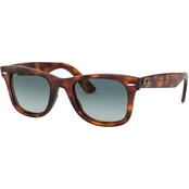 Ray Ban Square Havana Gradient Sunglasses 0RB434063973M