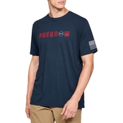 Under Armour Freedom Flag Bold Tee