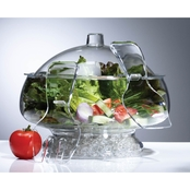 Prodyne Salad On Ice with Dome Lid
