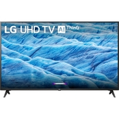 LG 43 in. 4K HDR Smart LED UHD TV with AI ThinQ 43UM7300PUA