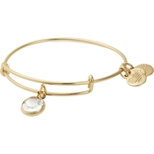 Alex and Ani Swarovski Color Code April Bangle