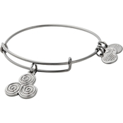 Alex and Ani Triskelion Bangle Bracelet