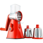 As Seen on TV Nutrislicer 3 in 1 Countertop Food Slicer, Chopper and Grater