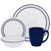 Corelle Cafe Classic Blue 16 pc. Dinnerware Set