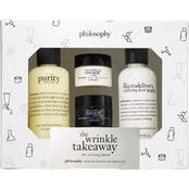 philosophy The Wrinkle Takeaway Line Correcting Solutions Set