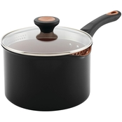 Farberware 3 Qt. Covered Straining Saucepan